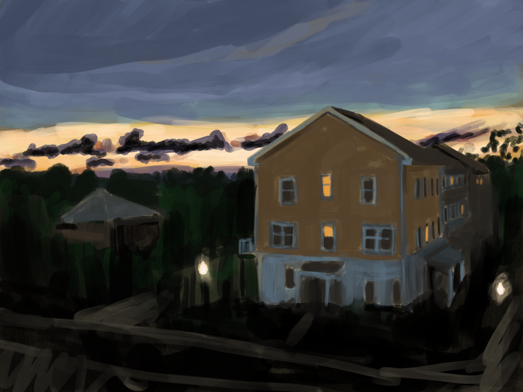 Painting of some weather